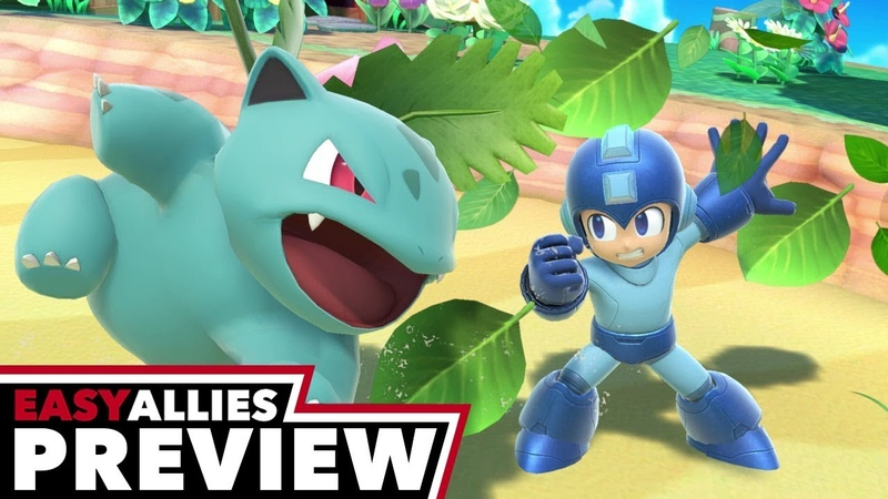 Super Smash Bros. Ultimate - Easy Allies Preview