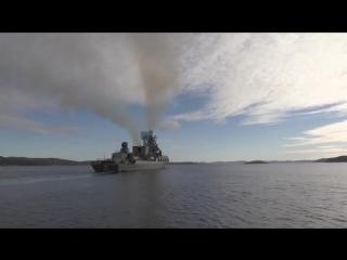 В Кронштадт прибыли первые пять кораблей — участников Главного Военно-морского парада