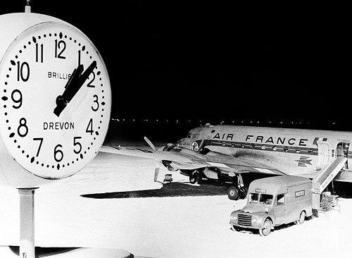 В Шереметьево открылась фотовыставка к 55-летию полетов KLM в Москву В общедоступной зоне терминала Е...
