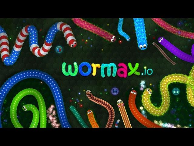 Cтрим по игре: Wormax.io 2