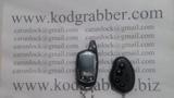 Кодграббер пишет брелок автосигнализации BlackBug. Codegrabber intercept signal BlackBug Alarm.