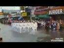 Визит в Корею моряков США и России