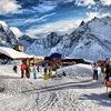 Поездка на горнолыжный курорт в пос. Домбай