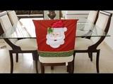 Capa Natalina Para Cadeira Papai Noel