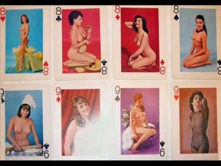 ����� 70 �����. Playing cards with erotic 70s.