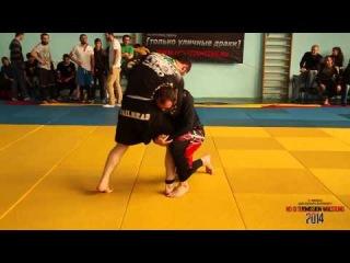Чемпионат Санкт-Петербурга по грепплингу NoGi SW 2014 Гаджимурадов-Азизов 85кг финал