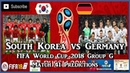 South Korea vs Germany | FIFA World Cup 2018 Group F | Match 41 Predictions FIFA 18