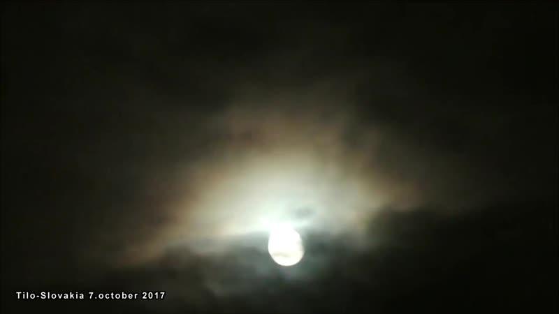 Луна алхимической каббалы.7.октябрь 2017.