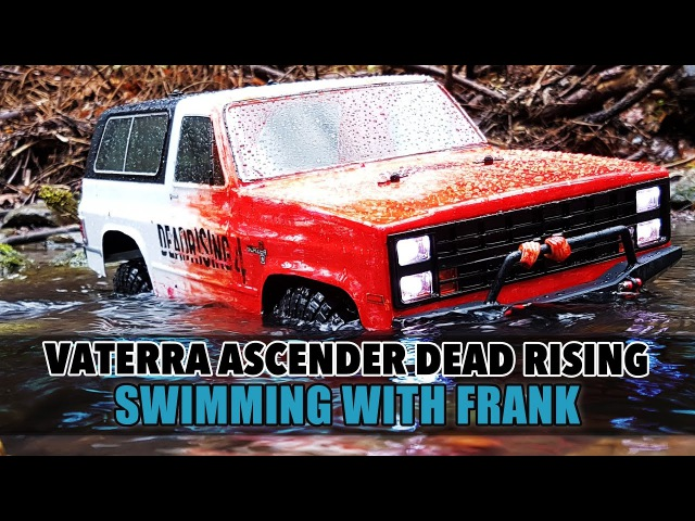 Vaterra Ascender Dead Rising - Swimming with Frank