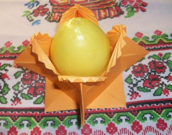 Оригами. Коробочка/подставка
