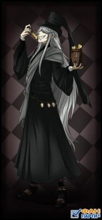 темный дворецкий фото гробовщик