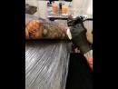 Horror tattoo process 2