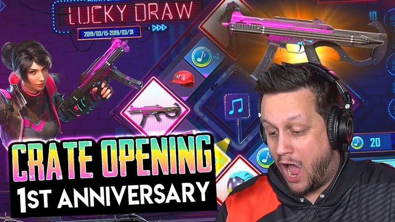 LUCKY DRAW PUBG MOBILE CRATE OPENING SICK LOOT EPIC WIN