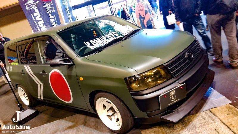 HD TOYOTA PROBOX NCP50 modified トヨタ・プロボックス・エアロカスタム 名古屋オートトレンド2017