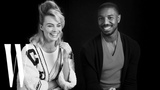Margot Robbie and Michael B. Jordan on Being Each Others Movie Crushes W Magazine