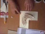 Как сделать объемную открытку  киригами