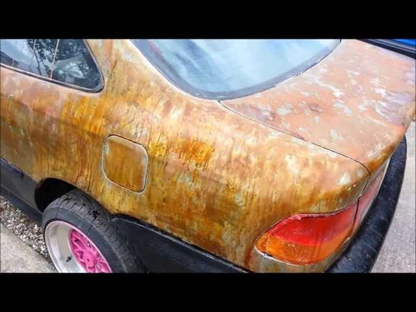 Half an hour rust - rat look civic - how to quick rust