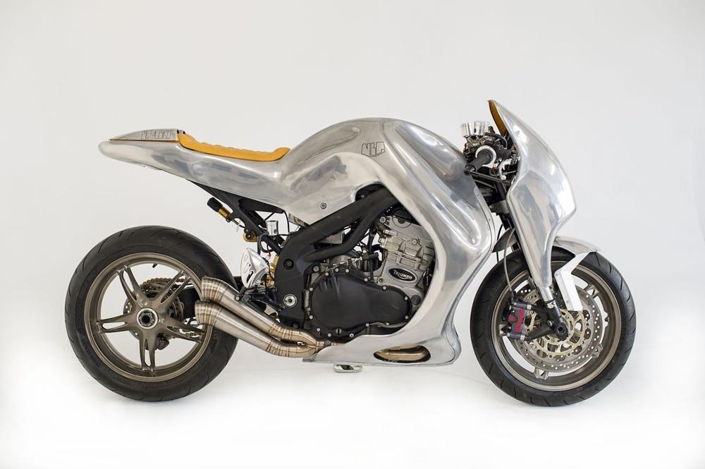 Metalbike Garage: кастом MBG_001 на базе Triumph Speed Triple 2000