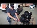 Двигатели Samsan на мотобуксировщиках СТЕМ Север