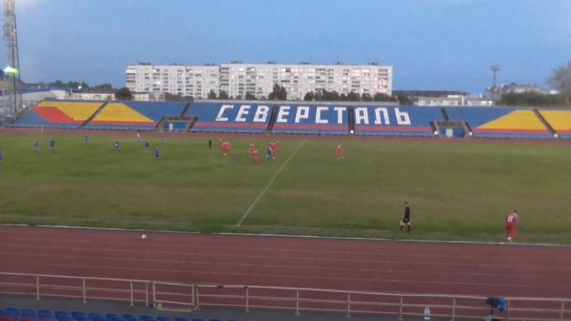 Фк Череповец - Динамо 4:0 (2 тайм)