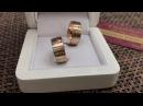 Обручальные кольца с цветными бриллиантами