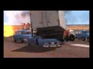Аварии на дороге Классные игры про тачки Мультики про машинки Тачки быстро ехали и разбились ( 144 X 176 ).3gp