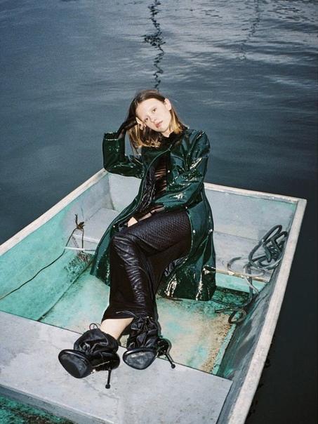 Mia Goth Interview Germany, 2018