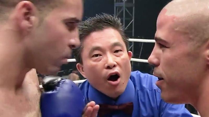 Самый зрелищный бой в истории - Комментатор обезумел Майк Замбидис против Шахида Оулада