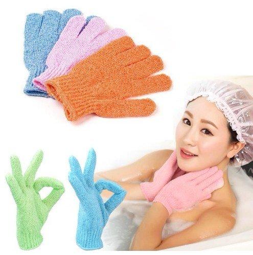 Мочалка в форме перчатки за 030