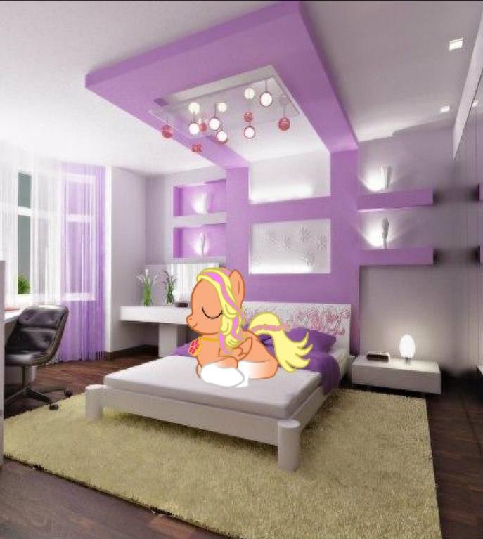 Сиреневая комната фото