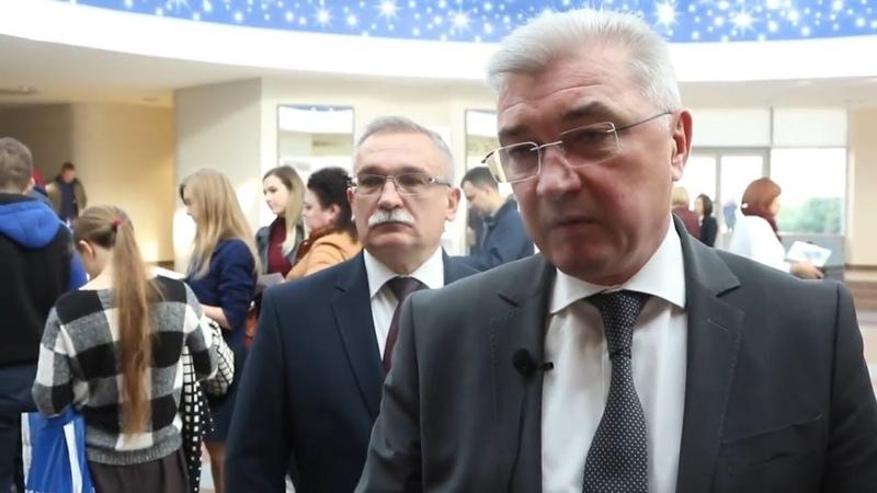 Министр здравоохранения Республики Беларусь Валерий МАЛАШКО на выставке СТОМАТОЛОГИЯ БЕЛАРУСИ-2018