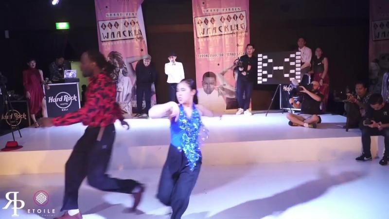 Bagsy (UK) vs Yoon Ji (KR) _ Top8 _ AAWF 2018 Grand Finals Bali, Indonesia by Etoile Dance