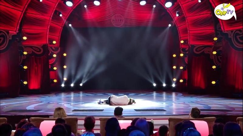 БОМЖ танцует нереальный танец на шоу талантов