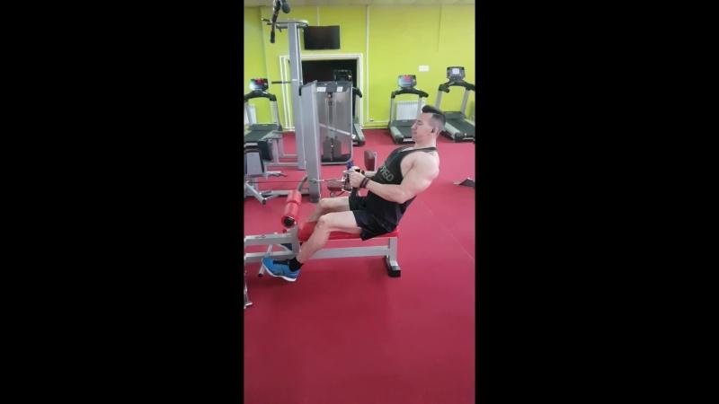 Тренировка спины 2 - Вячеслав Северюхин