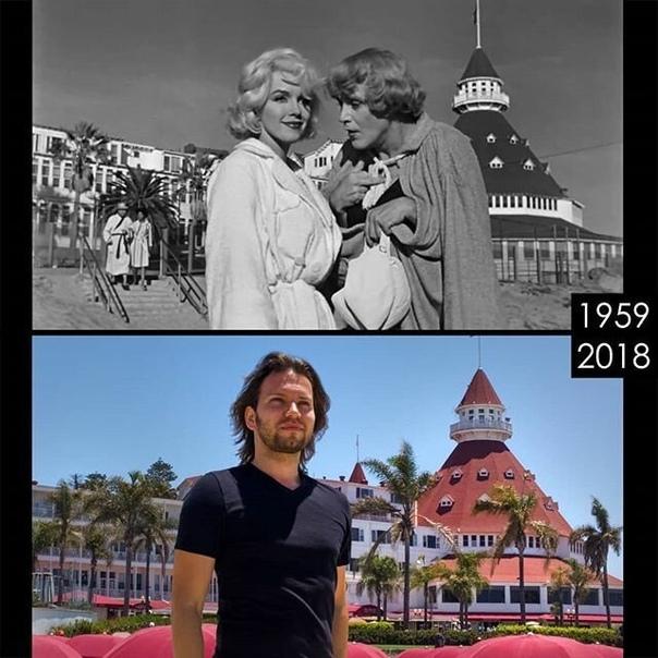 Киноман ищет локации и воссоздает сцены из известных фильмов. Часть 2. Молодой кинопродюсер из Лос-Анджелеса Фил Гришаев ведет аккаунт в Инстаграме, который вполне можно рекомендовать всем, кто