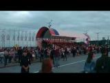 Фан-зона в Чебоксарах на Красной площади