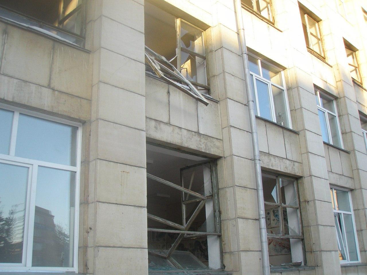 фотографии Падение метеорита  в Челябинске