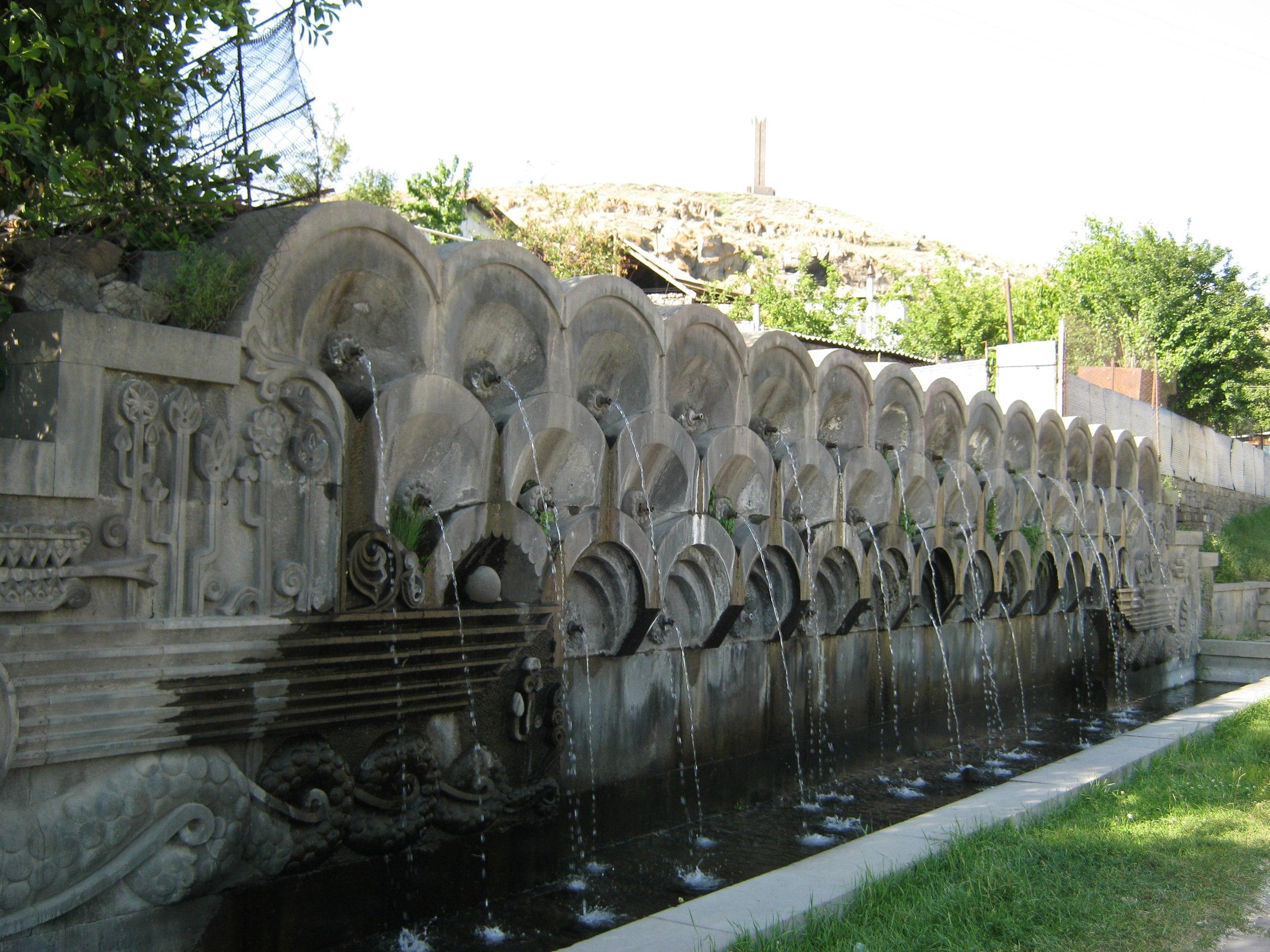 Фонтаны в армянском стиле