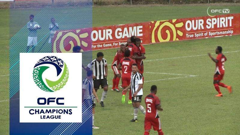 2019 OFC CHAMPIONS LEAGUE   GROUP D   Highlights   Tupapa Maraerenga v Solomon Warriors