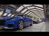 Как собирают суперкар Ауди ТТ РС Audi TT RS на заводе