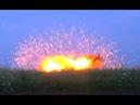 Кадры испытаний нового снаряда ДНР от РСЗО Чебурашка