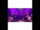 Lynn Gunn and Justin Nace drum kit of Half by PVRIS, Portland 04/05/2018