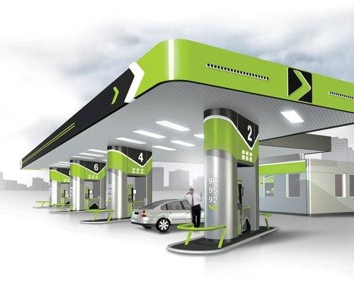 Установка газового