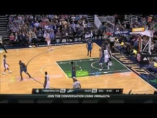 HD Minnesota Timberwolves vs Utah Jazz | Full Highlights | March 23, 2015 | NBA Season 2014/15