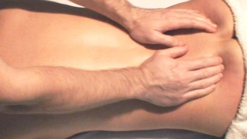 Массаж поясницы и крестца. Обучение массажу в домашних условиях. Massage waist and sacrum