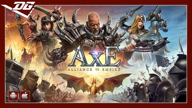 AxE Alliance vs Empire (Global Release) (iOS Android) Gameplay ᴴᴰ