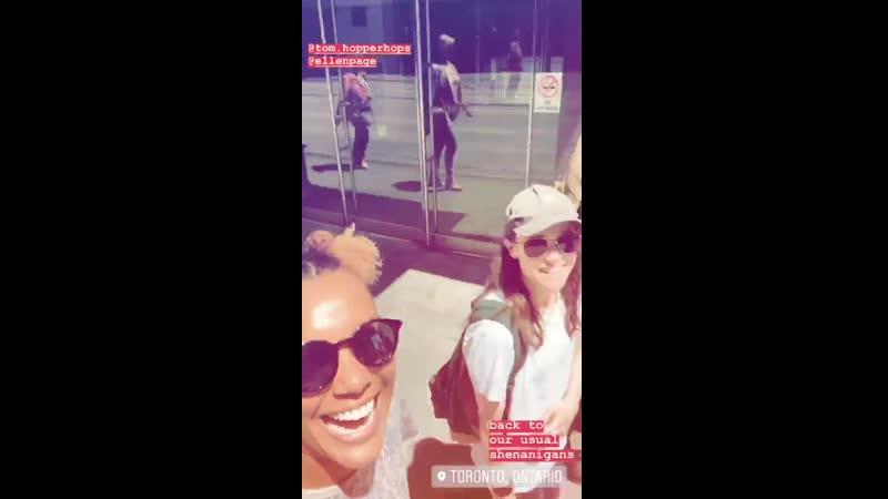 Emmy Raver Lampman Instagram Story Jun 06