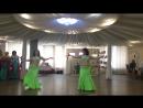 Восточный танец, дуэт Ибрагимова Лейла, Смыкова Юлия под рук. Аксеновой Ксении