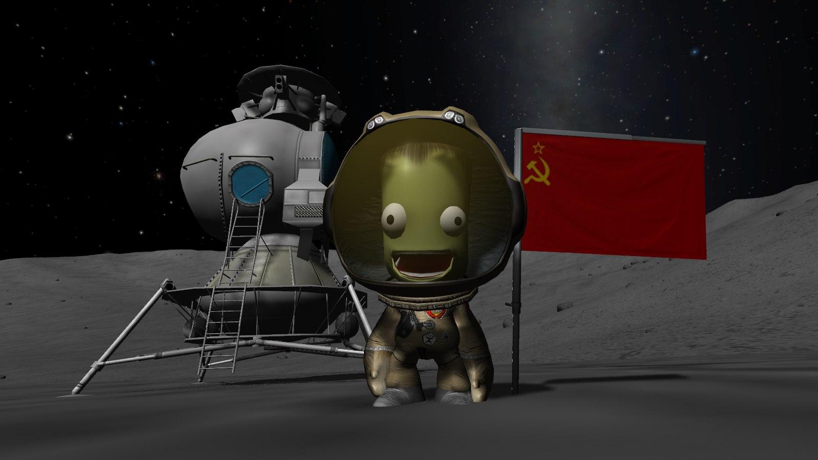 kerbal in space suit -#main