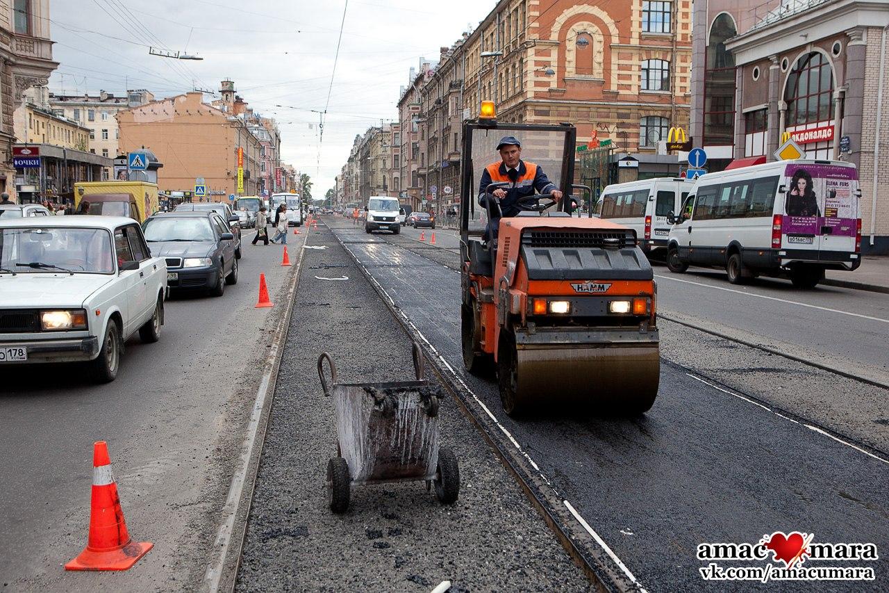 Средний проспект Васильевского острова ремонт